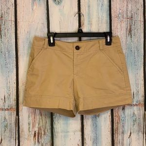 Lilly Pulitzer Palm Beach Fit Tan Corduroy Shorts